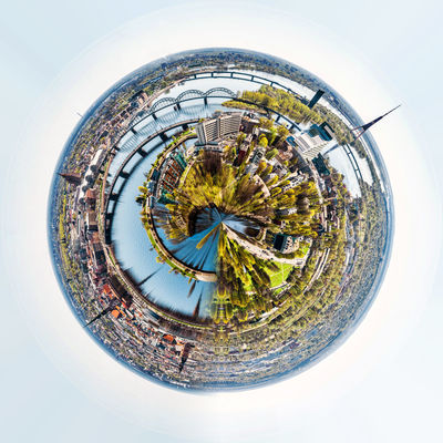 Little planet 360 degree sphere. Panoramic view of Riga city. Latvia 3 Dimensional 360 Degree Altered Image City Cityscape Latvia Old Town Panorama Panoramic Skyline Sphere TOWNSCAPE Digitally Generated Image Landscape Planet Riga Three Dimensional Three Dimentional Photography Urban Landscape Urban Skyline World