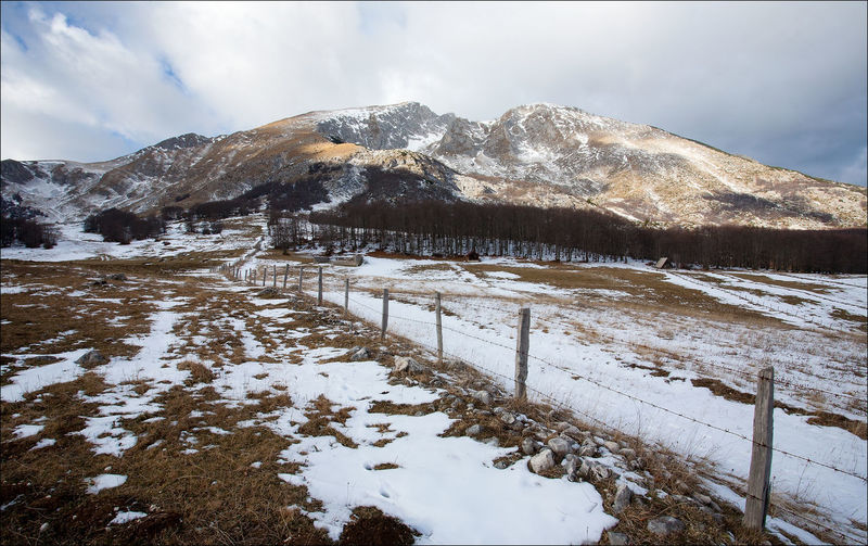 Durmitor mountain Lost In The Landscape Nature Sky And Clouds Winter Wintertime Beauty In Nature Cold Temperature Landscape Mountain No People Outdoors Sky Snow Snowcapped Mountain