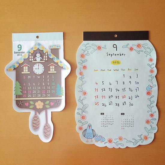 よろしくセプテンバー🍠 カレンダー Calendar 9月 セプテンバー