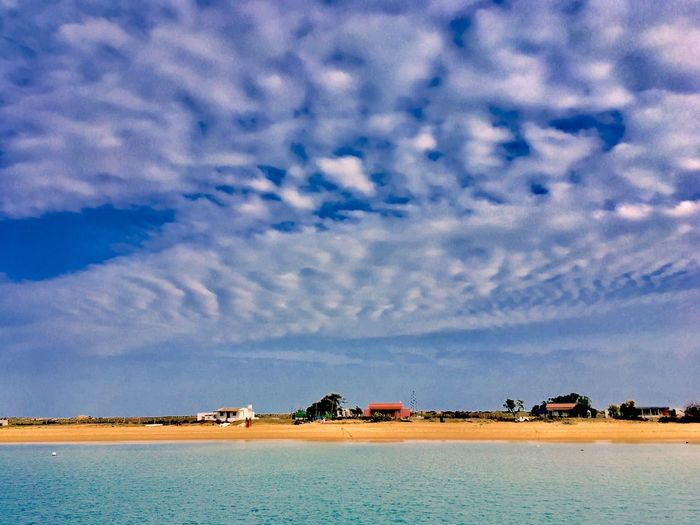 Culatra Portugal Algarve Ria Formosa Sky Cloud - Sky Water Scenics - Nature Beauty In Nature Tranquil Scene Tranquility