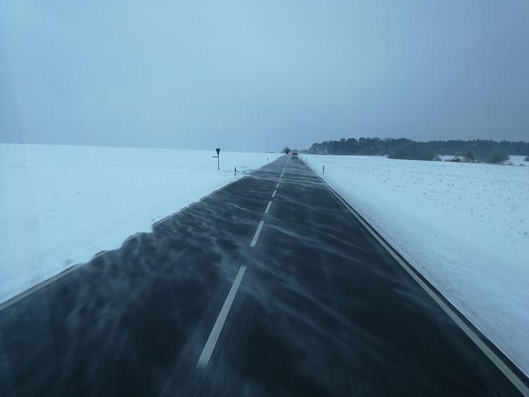 Winter Cold Temperature Weather Snow Landscape Travel Scenics