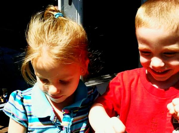 Childhood Children Only Sunlight Twins Boyandgirl Brother And Sister Bonded For Life