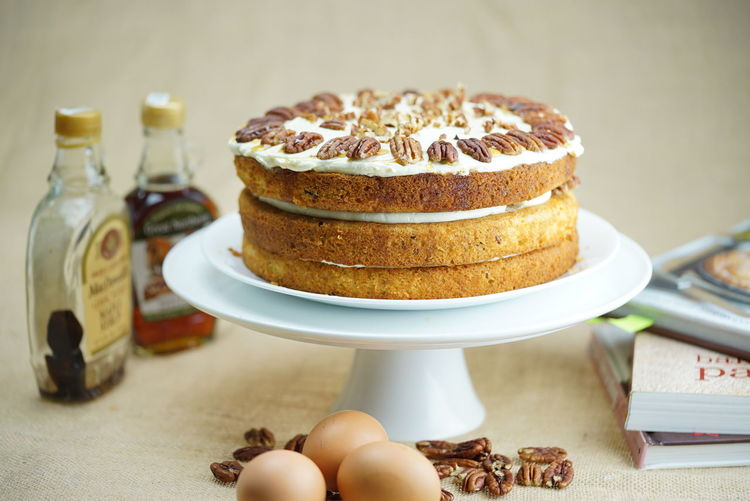 Pecan Maple Syrup Cake Homebaking Desserts Layer Cake Cakes Showcase: December Pecan Life As A Baker Cakestagram