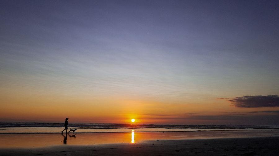 Keep going for something beautiful awaits you. Bali Beach Baliphotography Bali, Indonesia Seminyak Seminyak Beach Bali Sea Sunset Beach Full Length Summer Sand Silhouette Horizon Sun Seascape Coast