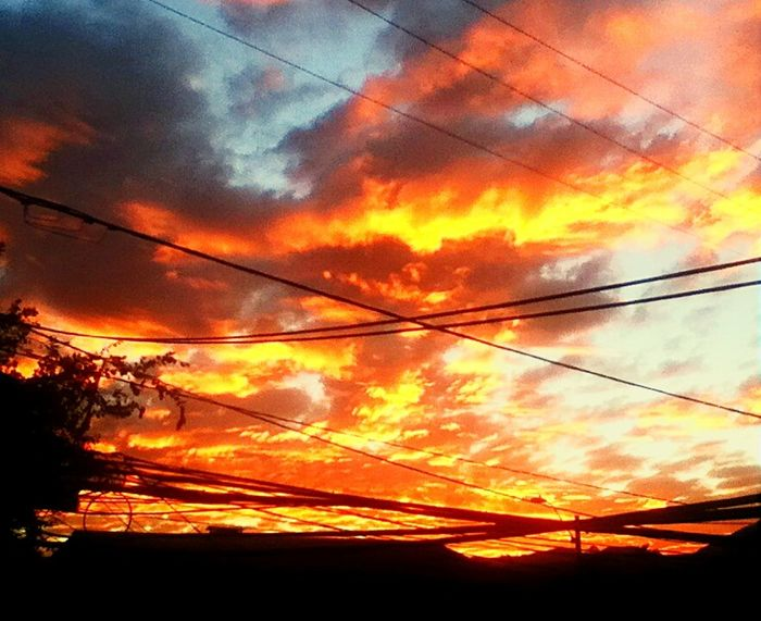 The sky on fire The Great Outdoors With Adobe First Eyeem Photo