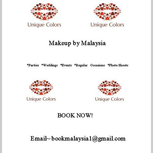 BookNow UniqueColors MakeupByMalaysia www. styleseat.com/uniquecolors