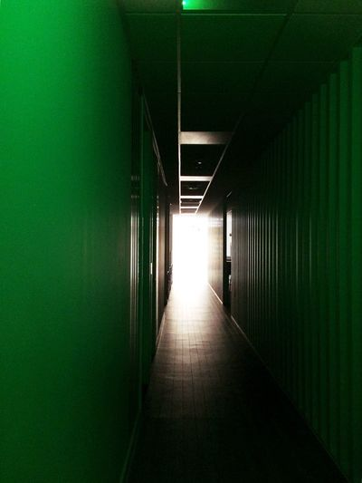 Gridlove Indoors  Empty The Way Forward Illuminated Corridor No People Built Structure Architecture Day Emergency Lighting Corridor View Corridor Walk Corridors  Light