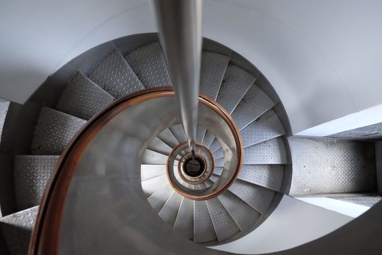 Round and round The World Needs More Spiral Staircases Spiral Spiral Stairs Inside Inside A Lighthouse Lighthouse Monochrome Monochrome Photography Geometric Shape Lines Lines, Shapes And Curves Lines And Shapes