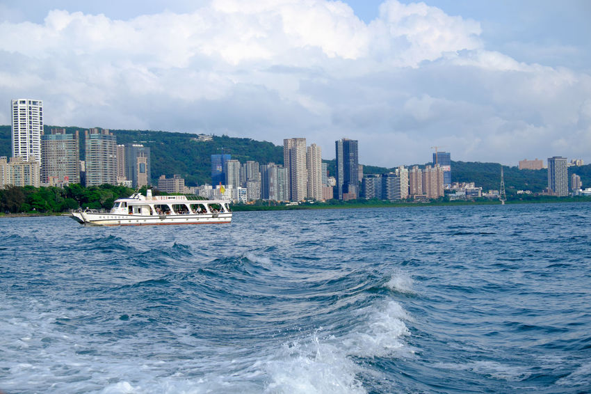 台湾淡水河 Damshui Danshui Fujifilm Fujifilm X-E2 Fujifilm_xseries Outdoors River Sky Taiwan Tamshui Travel Photography Water XF18-55mm 台湾 台湾北部 台湾旅行 河 淡水 淡水河 臺灣