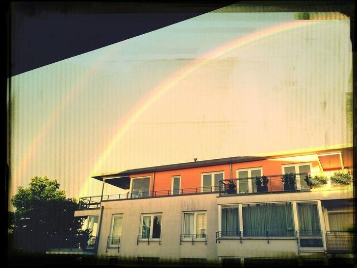 Sky Rainbow Nice Great Views