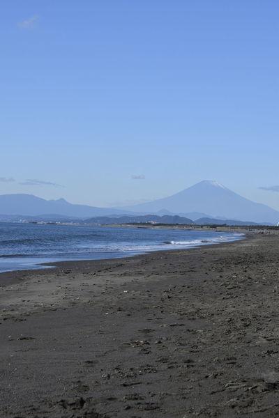 Blue Day EyeEm Best Shots EyeEm Nature Lover Mountain Mtfuji Nature Outdoors Sea Shore Sky Wave
