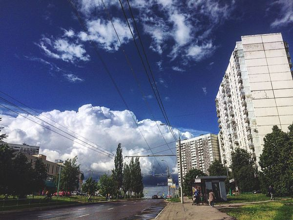 Sky Architecture Built Structure Building Exterior Cloud - Sky Cable Outdoors Tree City Day Transportation Skyscraper Electricity Pylon No People Nature