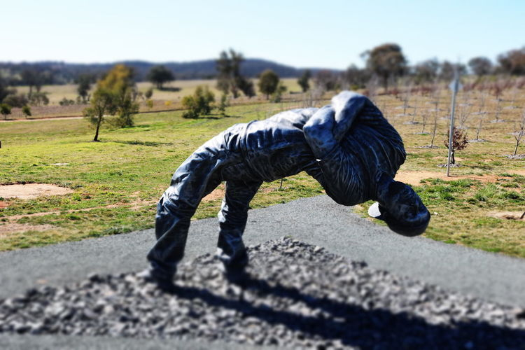 Canberra Statue Of Men Adult Clear Sky Day Men Nature One Person Outdoors People Sky Statues And Monuments