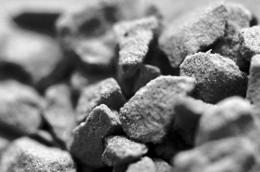 Instant Coffee Boulders Coffee Backgrounds Blackandwhite Close-up Food Food And Drink Full Frame Heap Macro Pattern Selective Focus Temptation Textured