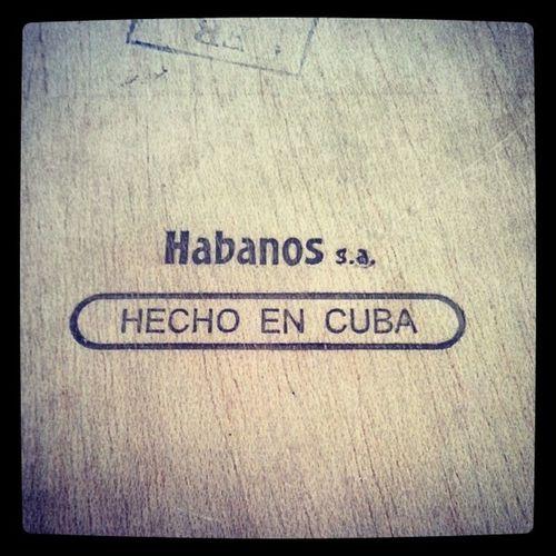 Habanos Hecho En Cuba ... Habanos