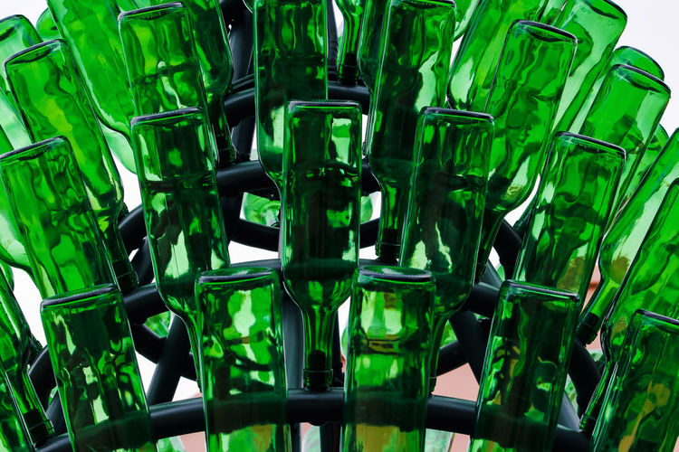 Green Color No People Glass - Material Bottle Transparent Close-up Food And Drink Glass Indoors  Still Life Container Drinking Glass Drink Large Group Of Objects Focus On Foreground Abundance Alcohol Selective Focus Backgrounds Refreshment