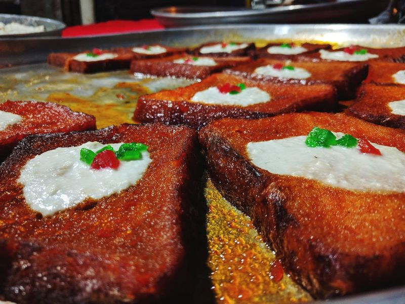 Shaahi Tukda🍞🥖 Close-up Photography Shaahi Tukda 😚 Nexus6P Photography Sweet Bread Indulgence Sweet Food Close-up Dessert