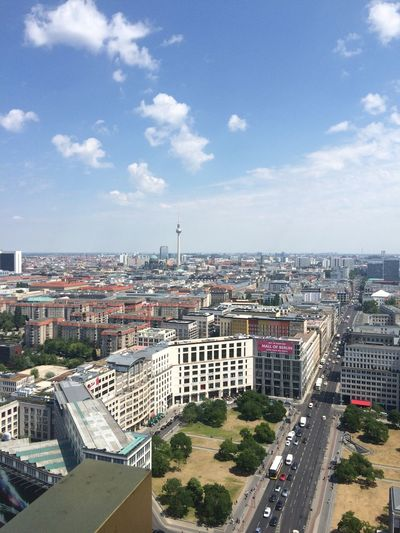 the second highest spot of Berlin nice View up here