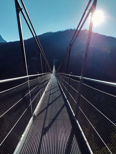 Naturelovers Nature Environment Wallpaper Austria Beautiful Nature Traveling Landscape Freshness Travel Environmental Conservation Travel Destinations Sunset Sunlight Forest Trees Beauty In Nature Nature Photography Wonderful Place Wonderful View Shadow Sunlight And Shadow Autumn Fog Water Bridge - Man Made Structure Weather Sky Bridge Footbridge