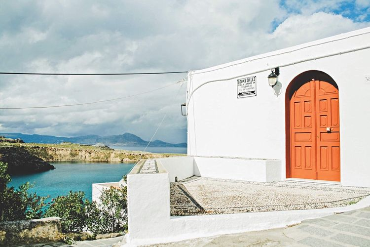 Open Edit Traveling Great Views House Traditional Beautiful White Sea Exploring Starting A Trip