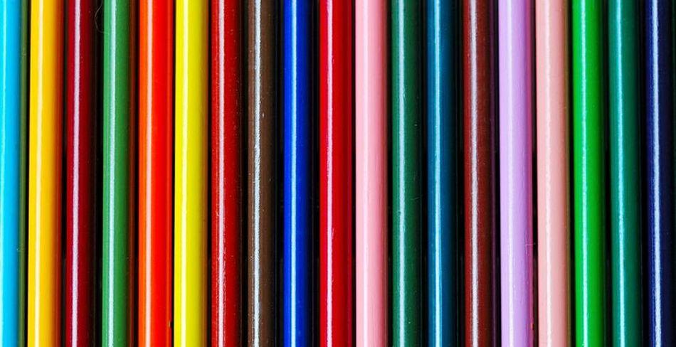 In rank and file / In Reih und Glied ~ Colour Pencils Pencils In Rank And File Colourful Colours Rainbow Colors Rainbow Buntstifte Stifte In Reih Und Glied Ordnung Bunt Farbig Regenbogenfarbe Färben Regenbogen Everything In Its Place