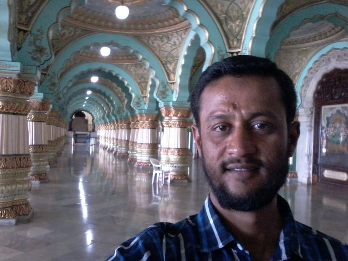 In Mysore Palace(india)