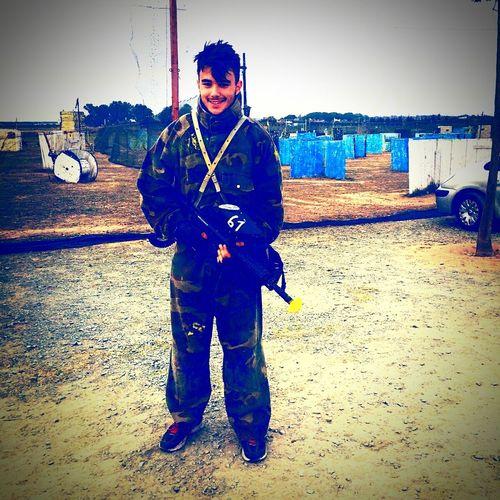 Firstphotoday Paintball Gun