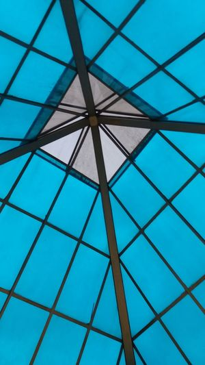 The beauty of math Pattern Built Structure Architecture Blue