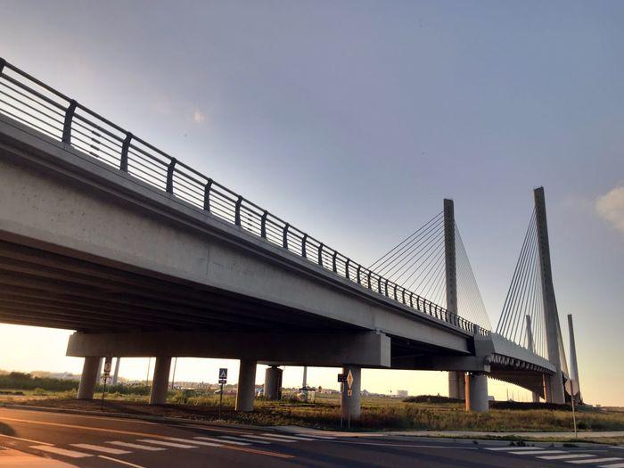 Architecture Bridge Built Structure Bridge - Man Made Structure Connection Transportation Sky