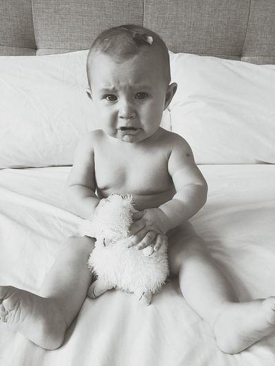 Babygirl Cryingbaby Baby Upset Teething