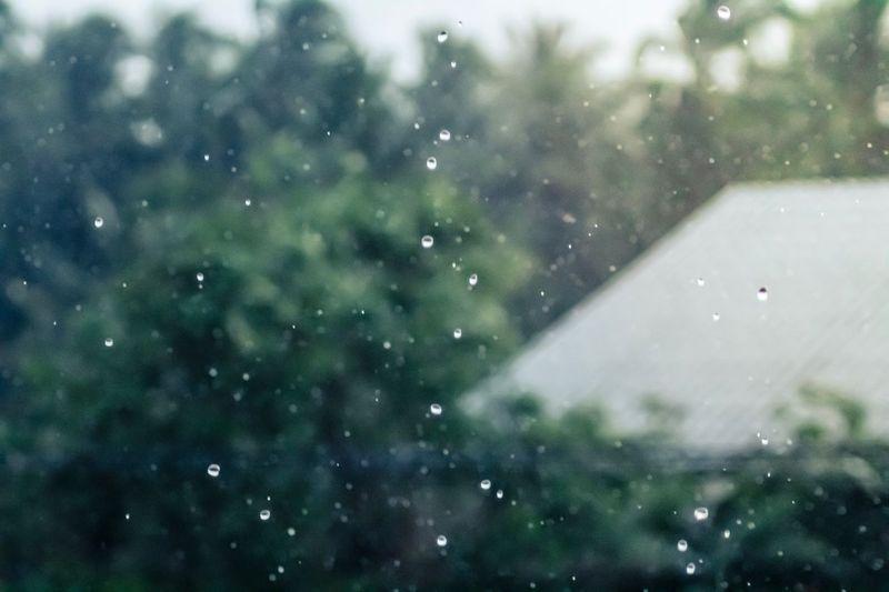 Raining in the