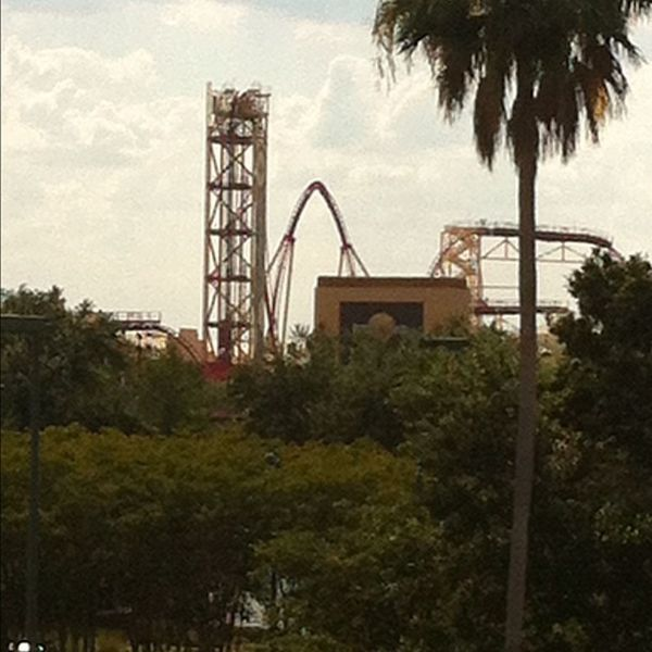 View from CityWalk of Universal