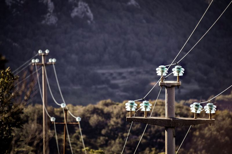 https://youtu.be/EPKng_Wz1ks Electricity Pylon Electricity  Mountain Forest Post Pylon LINE Lines Wire Online  Cable Cables Insulators Mast No People Nature Sky Outdoors Focus On Foreground Day Transportation Cable Rope Hanging