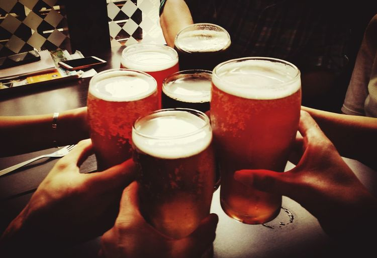 A la votre Human Hand Human Body Part Drink Beer - Alcohol Alcohol Beer Glass Drinking Glass