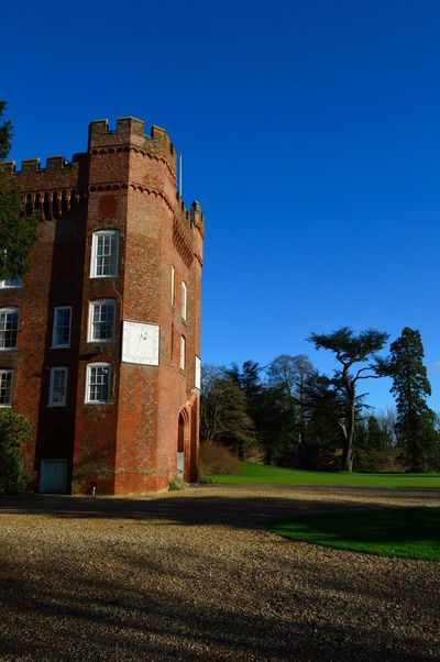 My sister's beautiful wedding venue Farnham Castle Castle Sunny Day Blue Sky Sunshine Beautiful Scenery Building No Filter, No Edit, Just Photography