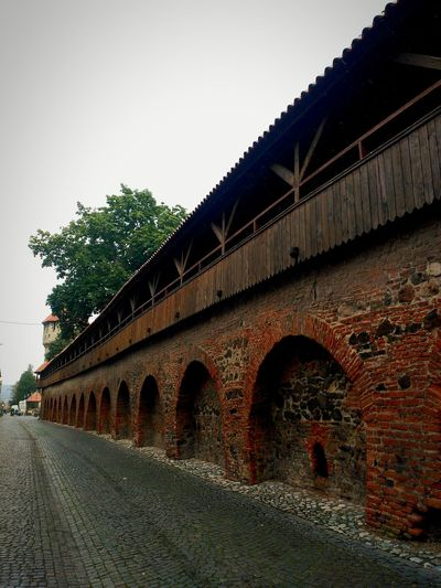 Architecture Built Structure Clear Sky Arch Day Sky Outdoors Tranquil Scene No People Fortress Wall History Historyarchitecture HumanArt Sibiu Hermanstadt Transilvania, Romania