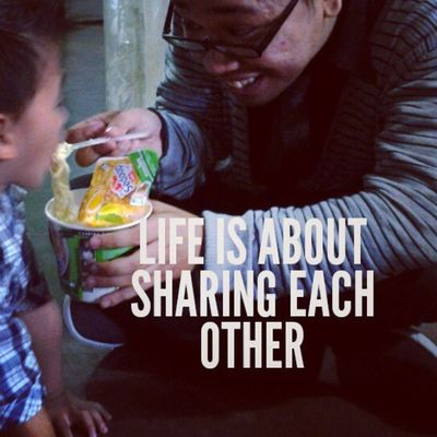 Life is about givig each other ...Haha our story yesterday on kidz bethel sunday school. Brotherhood Mycutebro