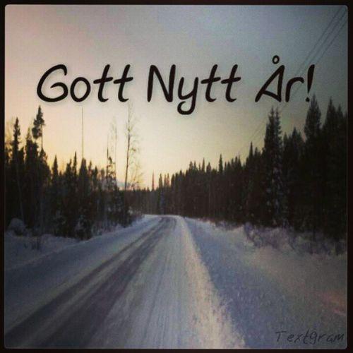 2013 Happynewyear Gottnytt år Winter Sweden nälden Jämtland