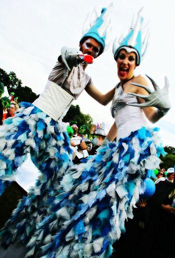 Shambala Festival Parade. Visual delights! Taking Photos Check This Out Enjoying Life Festival Festive Season Performers Circus Shades Of Blue