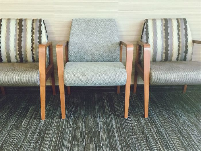 Waiting Room Sitting Alone Sit Down Library Chairs Empty Chair Next In Line Hospital Waiting Room Waiting Rooms Chair For You Waiting In Line EyeEm Selects Indoors  Chair Wood - Material No People Hardwood Floor Wood Paneling first eyeem photo