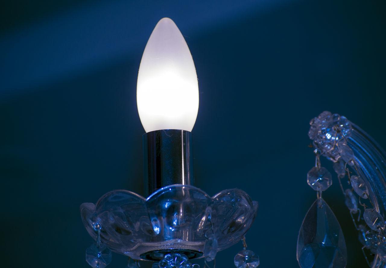 illuminated, lighting equipment, close-up, no people, studio shot, light bulb, electricity, indoors, black background
