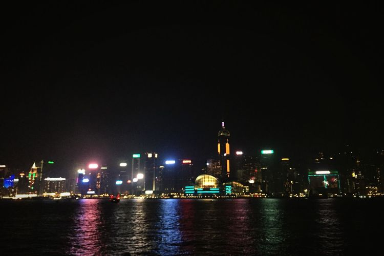 The City Light Night City Architecture Illuminated Building Exterior Built Structure Travel Destinations No People Tower Reflection Horizon Over Water City By The Bay City By The Sea Night Lights HongKong Hong Kong Skyscraper Water Sky Outdoors Urban Skyline Cityscape The City Light