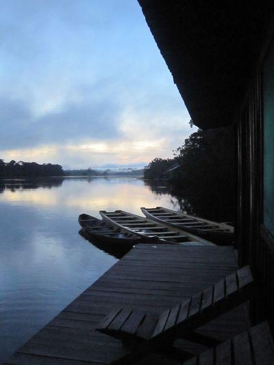 #Brazil #NoFilter #Sunrise #amazon #boat #dawn #nofiltertravel #river #travel #travelphotography Lost In The Landscape
