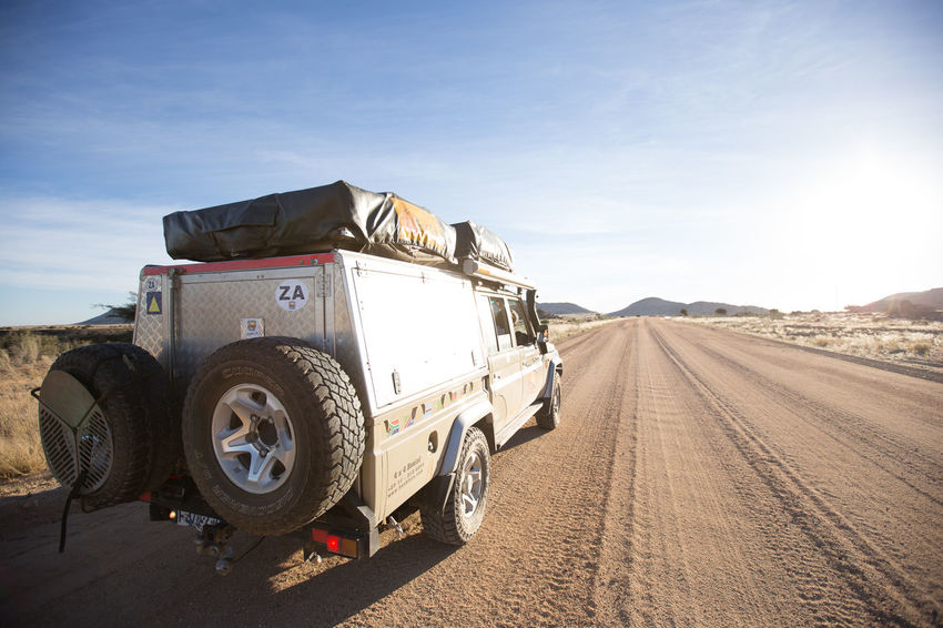 Lost on the road, Namibia Transportation Sky Sunlight Mode Of Transportation Nature Road Land Vehicle Day Land Jeep Jeeplife Journey Motor Vehicle Desert Sand Toyota Toyota Landcruiser Camping Adventure Namibia Namibia Desert Travel Travel Photography Rally Car