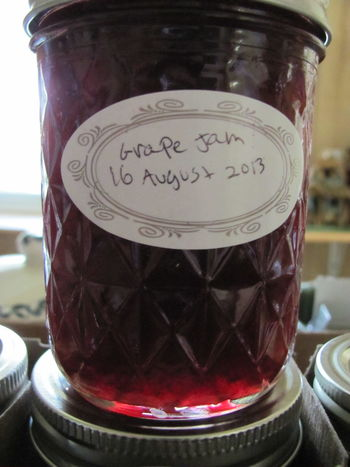 Series of pictures showing the making home made grape jelly. Canning Close-up Concord Grapes Do It Yourself Food Grapes Homemade Homemade Food Howto Jars  Jars Of Jelly Preserving Food