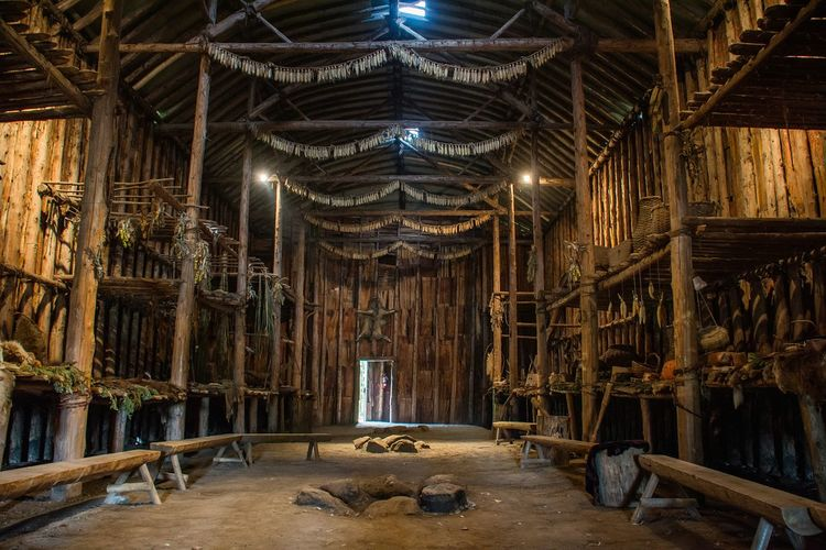 Crawford Lake, Milton, Ontario 📍 Iroquoise First Nations First Nation Wildlife Reserve Aboriginal Aboriginal Art Aboriginal Tribes Aboriginal Land Longhouse Long Exposure Indoors  Illuminated Interior Spirituality Place Of Worship Solitude Religion Corn Fur Interior Views Indoor Photography Design Fire Pit Worship Tribe Indian