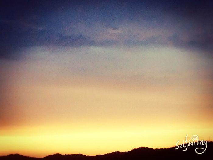 雨后的晚霞 First Eyeem Photo