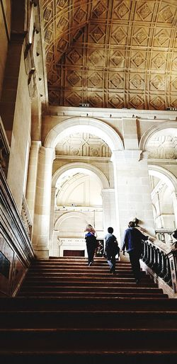 Steps Staircase Steps And Staircases Indoors  Travel Destinations Real People Arch Built Structure History Architecture Illuminated Indoors  Samsung Galaxy Note 8 Check This Out