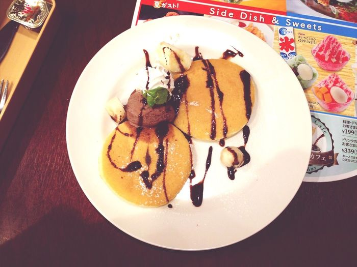 Pancakes Ice Cream