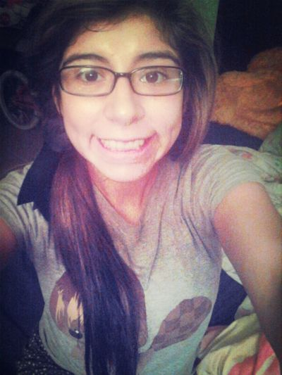Currently (: #Smile #Dimples #Throwed #MessyHair #Clairee (: